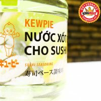 NƯỚC XỐT KEWPIE GIA VỊ CHO SUSHI-SUSHI SEASONING-CHAI 1,9L