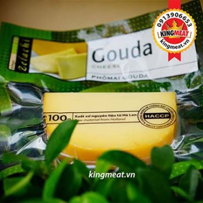 PHÔ MAI GOUDA - GOUDA CHEESE - GÓI 100GR