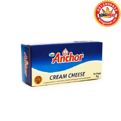 PHÔ MAI KEM ANCHOR - ANCHOR CREAM CHEESE - KHỐI 1 KG