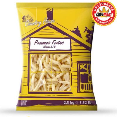 KHOAI TÂY COUNTRY POMMES FRITES 3/8 - 9,5MM