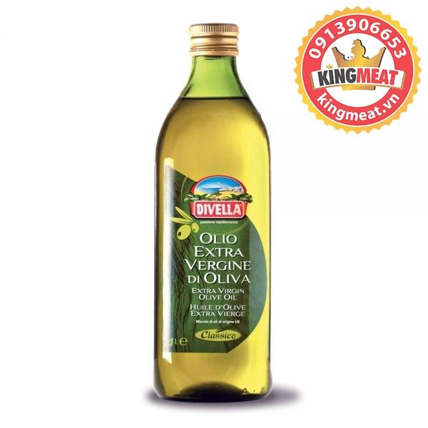 DẦU Ô LIU DIVELLA EXTRA VIRGIN OLIVE OIL CLASSICO 1000 ML