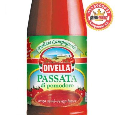 SỐT CÀ CHUA PASSATA DI POMODORO (DIVELLA) - 680Gr