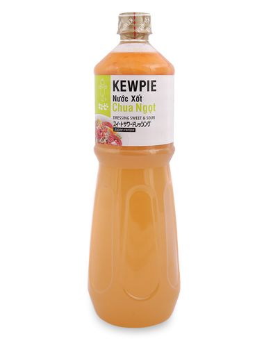 NƯỚC XỐT CHUA NGỌT KEWPIE-DRESSING SWEET AND SOUR-CHAI 1 L