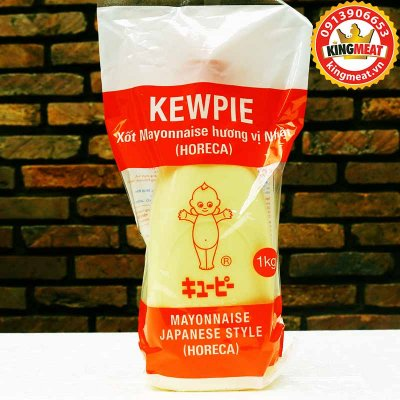XỐT MAYONNAISE HƯƠNG VỊ NHẬT (HORECA) KEWPIE (CHAI 1 KG)