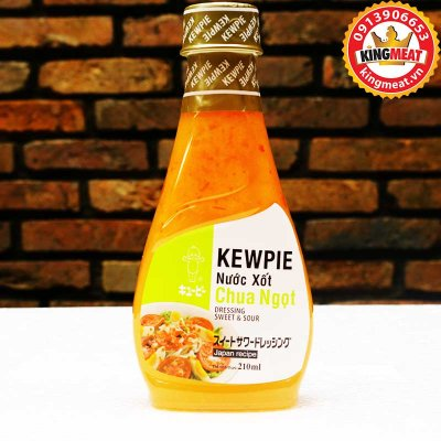 NƯỚC XỐT CHUA NGỌT KEWPIE-DRESSING SWEET AND SOUR-CHAI 210ML