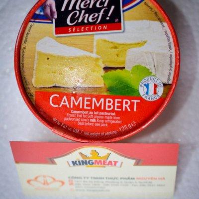 PHÔ MAI CAMMBERT MERCI CHEF - MERCI CHEF CAMEMBERT CHEESE - MIẾNG 125G