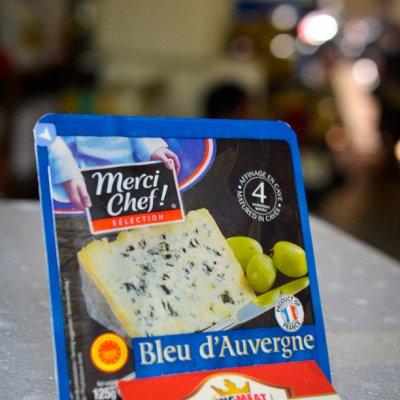 PHÔ MAI DÊ BLUE D'AUVERGNE MERCI CHEF - MERCI CHEF BLUE D'AUVERGNE CHEESE - MIẾNG 125gr