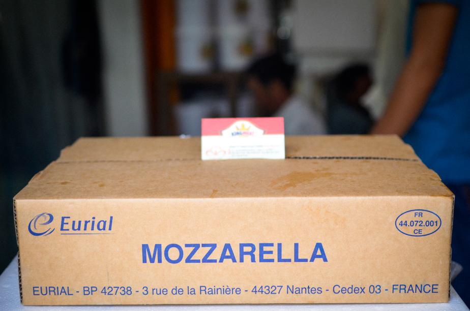 PHÔ MAI MOZZARELLA EURIAL - FRENCH MOZZARELLA CHEESE -  KHỐI 10 KG