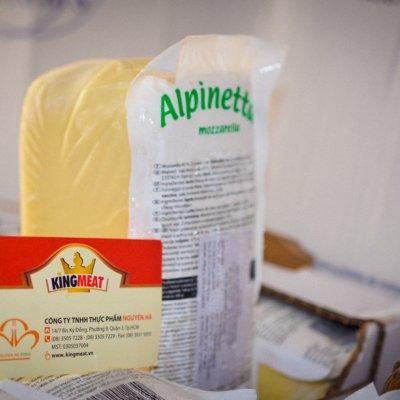 PHÔ MAI ALPINETTA - ALPINETTA MOZZARELLA CHEESE - KHỐI 1,5KG
