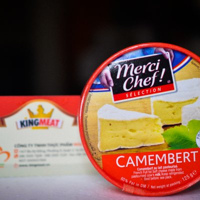 PHÔ MAI CAMMBERT MERCI CHEF - MERCI CHEF CAMEMBERT CHEESE - MIẾNG 125G