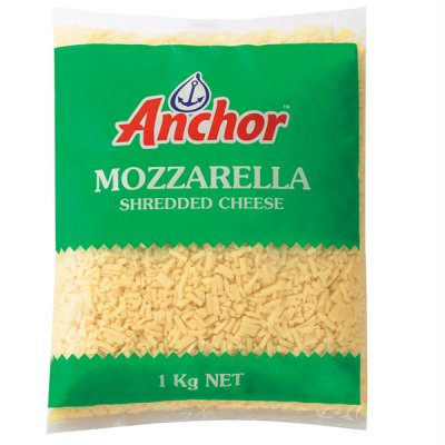 PHÔ MAI BÀO MOZZARELLA ANCHOR - ANCHOR MOZZARELLA CHEESE - 1 KG