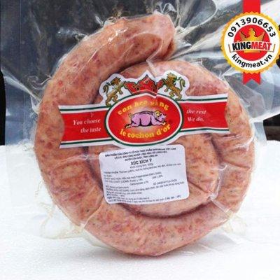 CUỘN XÚC XÍCH CAY - PIMENTO SAUSAGE ROLL - 300GR/GÓI