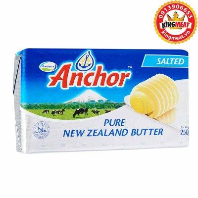BƠ MẶN ANCHOR - ANCHOR SALTED BUTTER NEW ZEALAND - MIẾNG 250g