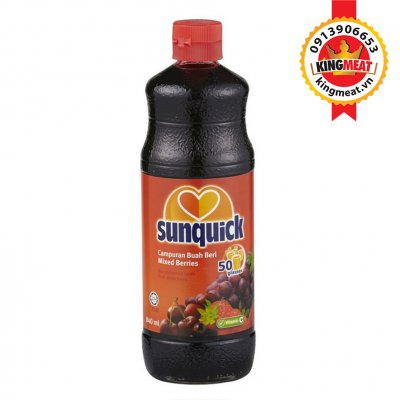 NƯƠC ÉP MIX BERRIES-SUNQUICK MIX BERRIES-1LIT