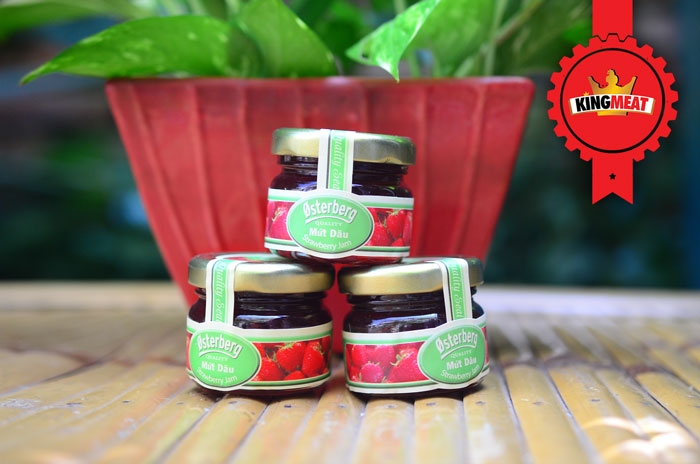 MỨT DÂU 28G - STRAWBERRY JAM