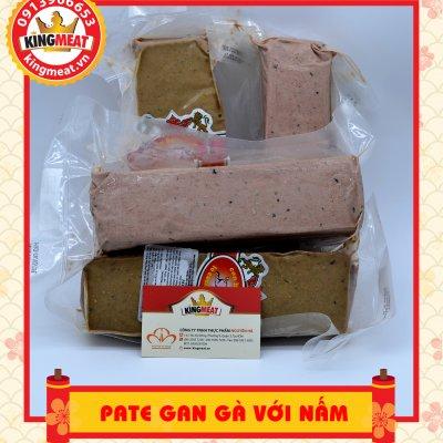 PATE GAN GÀ VỚI NẤM GÓI 500G