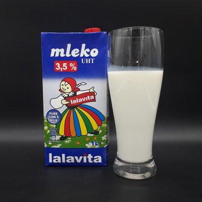SỮA TƯƠI NGUYÊN CHẤT TIỆT TRÙNG – UHT 3.5% FAT HIỆU MLEKO LALAVITA