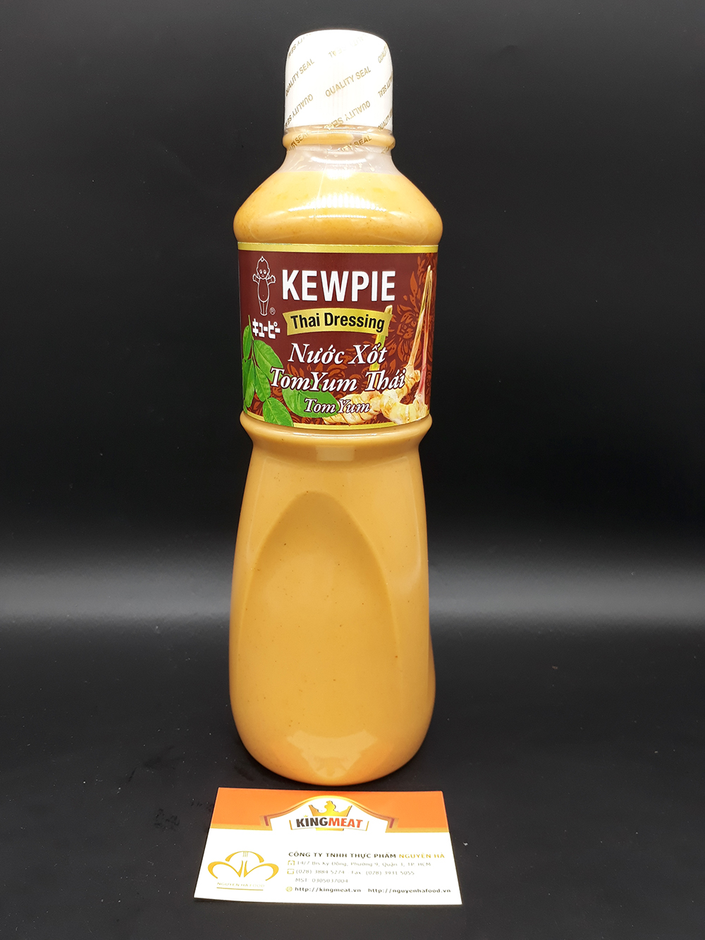 XỐT TOM YUM KEWPIE - KEWPIE THAI DRESSING TOM YUM