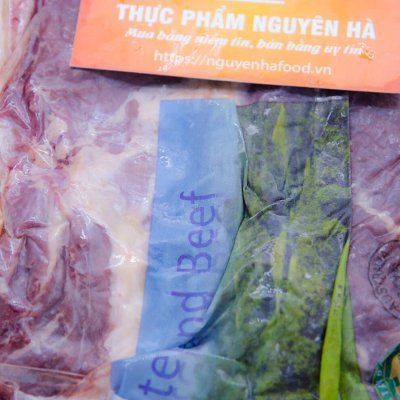 NẠC CƠ HOÀNH BÒ ÚC ĐÔNG LẠNH - THICK SKIRT HANGING TENDER - FROZEN AUSTRALIAN BEEF