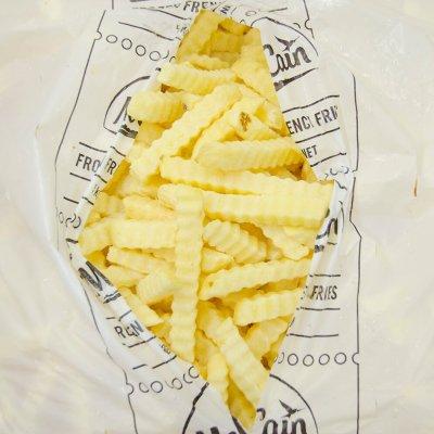 Khoai tây McCain  Răng cưa (13mm)  - McCain Crinkle Cut Fries (13mm) – 5kg/bao