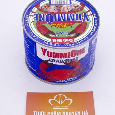 THỊT CUA BIỂN LUMP – YUMMIONE CRAB MEAT (454 GRAM/HỘP)