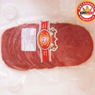 THĂN BÒ XÔNG KHÓI CẮT LÁT- SMOKED BEEF - SMOKED BEEF LOIN SLICED (500GR/GÓI)