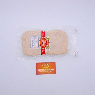 DĂM BÔNG GÀ CẮT LÁT (JAMBON) - SQUARE CHICKEN HAM (SLICED)- 500GR/GÓI
