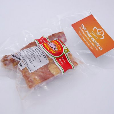 SƯỜN HEO XÔNG KHÓI DÀI 6 CM - SMOKED PORK RIB- GÓI 200GR