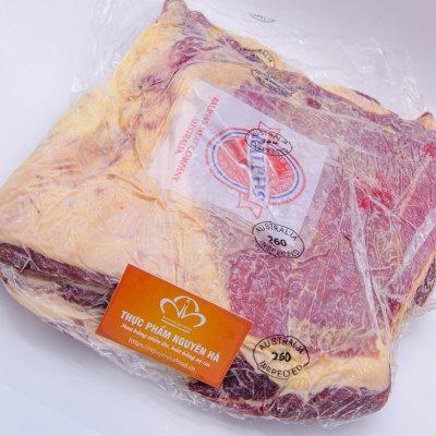 NẠM BÒ ÚC ĐÔNG LẠNH CAO CẤP – NE BRISKET PREMIUM- FROZEN AUSTRALIAN PRIME STEER BEEF