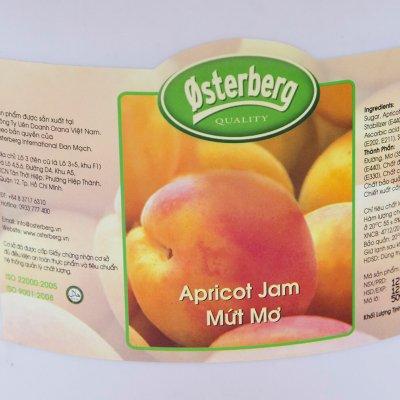 MỨT MƠ OSTERBERG – APRICOT JAM OSTERBERG – 5KG/XÔ