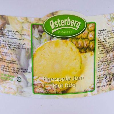 MỨT DỨA OSTERBERG – PINEAPPLE JAM OSTERBERG – 5KG/XÔ