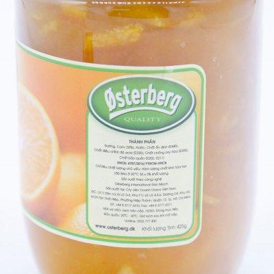 MỨT CAM OSTERBERG – ORANGE JAM OSTERBERG – 425 GR/HỦ