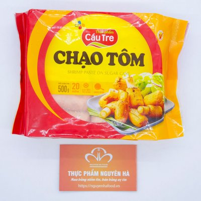 CHẠO TÔM – SHRIMP PASTE ON SUGAR CANE (500GRAM/GÓI)
