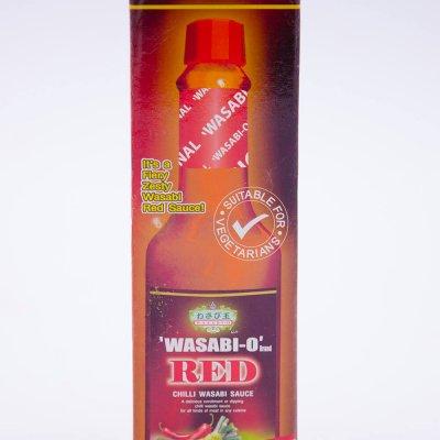 SỐT MÙ TẠT VÀ ỚT ĐỎ – RED CHILLI WASABI SAUCE – CHAI 55GR