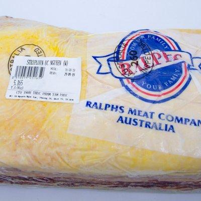 THĂN NGOẠI BÒ ÚC ĐÔNG LẠNH - STRIPLOIN - FROZEN AUSTRALIAN BEEF