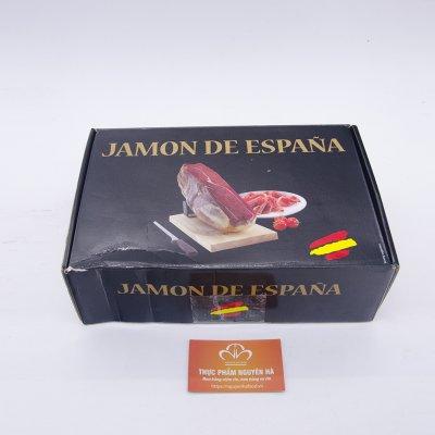 ĐÙI LỢN MUỐI KHÔNG XƯƠNG 36 THÁNG CHÂN TRƯỚC - ESTUCHE MINI JAMBON VACIO CON JAMONERO ( 1,5KG/ GÓI)