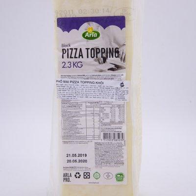 PHÔ MAI MOZZARELLA PIZZA TOPPING ARLA KHỐI 2,3KG