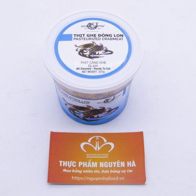 THỊT CÀNG GHẸ CLAW – PASTEURIZED CRABMEAT (227 GRAM /HỘP)