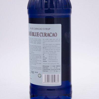 SI RÔ BLUE CURACAO OSTERBERG – BLUE CURACAO SYRUP (CHAI 750ML)