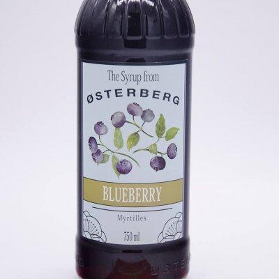 SI RÔ VIỆT QUẤT OSTERBERG – BLUEBERRY SYRUP (CHAI 750ML)