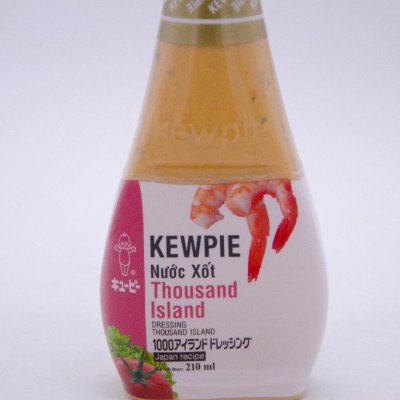 NƯỚC XỐT THOUSAND ISLAND - DRESSING THOUSAND ISLAND (ĐÓNG CHAI 210ML)