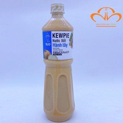 Nước xốt hành tây Kewpie- Dressing grated onion chai 1 lit
