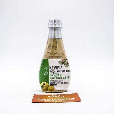 Kewpie nước xốt mè rang hương quả yuzu và tắc (210ml/chai. 12chai/thùng)