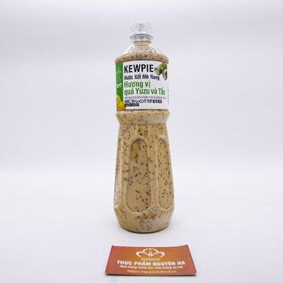 Kewpie nước xốt mè rang hương quả yuzu và tắc (1l/chai. 9 chai/thùng)
