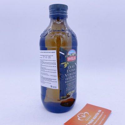 Dầu ô liu (oliu) divella extra virgin olive oil classico 500 ml