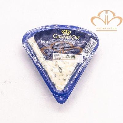 Phô mai mốc xanh Grand'Or 100gr - Danish Blue Cheese