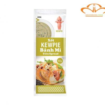 Xốt Kewpie Bánh Mì Vị Tiêu Spread Gói 80g