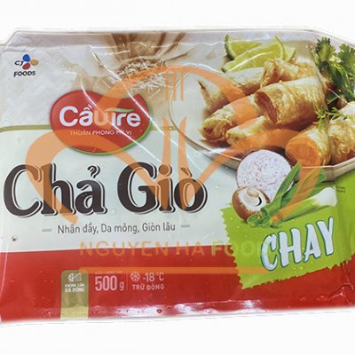 CHẢ GIÒ CHAY CẦU TRE-GÓI 500GRAM
