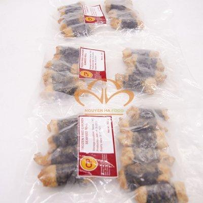Gà Cuộn Rong Biển - Seaweed Chicken Roll