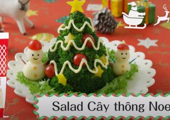Salad cây thông Noel